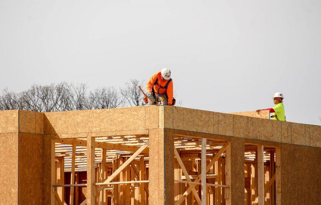 construction toit plat